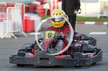 © Octane Photographic Ltd. 2011. Milton Keynes Daytona Karting, Forget-Me-Not Hospice charity racing. Sunday October 30th 2011. Digital Ref : 0194lw7d0308
