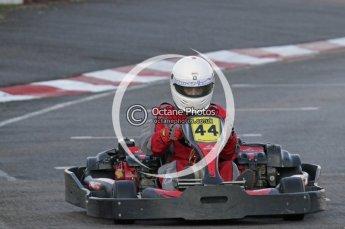 © Octane Photographic Ltd. 2011. Milton Keynes Daytona Karting, Forget-Me-Not Hospice charity racing. Sunday October 30th 2011. Digital Ref : 0194lw7d0556