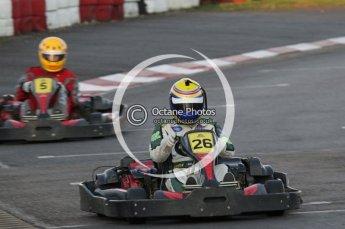© Octane Photographic Ltd. 2011. Milton Keynes Daytona Karting, Forget-Me-Not Hospice charity racing. Sunday October 30th 2011. Digital Ref : 0194lw7d0607
