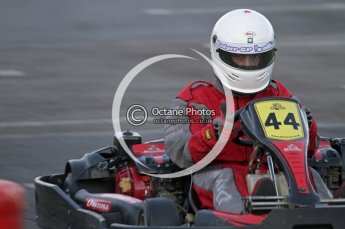 © Octane Photographic Ltd. 2011. Milton Keynes Daytona Karting, Forget-Me-Not Hospice charity racing. Sunday October 30th 2011. Digital Ref : 0194lw7d0869