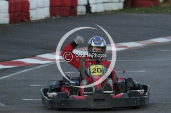 © Octane Photographic Ltd. 2011. Milton Keynes Daytona Karting, Forget-Me-Not Hospice charity racing. Sunday October 30th 2011. Digital Ref : 0194lw7d0997