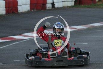 © Octane Photographic Ltd. 2011. Milton Keynes Daytona Karting, Forget-Me-Not Hospice charity racing. Sunday October 30th 2011. Digital Ref : 0194lw7d0997