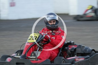 © Octane Photographic Ltd. 2011. Milton Keynes Daytona Karting, Forget-Me-Not Hospice charity racing. Sunday October 30th 2011. Digital Ref : 0194lw7d1285