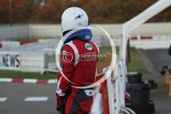 © Octane Photographic Ltd. 2011. Milton Keynes Daytona Karting, Forget-Me-Not Hospice charity racing. Sunday October 30th 2011. Digital Ref : 0194lw7d1289