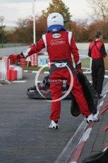 © Octane Photographic Ltd. 2011. Milton Keynes Daytona Karting, Forget-Me-Not Hospice charity racing. Sunday October 30th 2011. Digital Ref : 0194lw7d1358