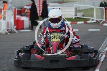 © Octane Photographic Ltd. 2011. Milton Keynes Daytona Karting, Forget-Me-Not Hospice charity racing. Sunday October 30th 2011. Digital Ref : 0194lw7d1384