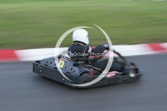 © Octane Photographic Ltd. 2011. Milton Keynes Daytona Karting, Forget-Me-Not Hospice charity racing. Sunday October 30th 2011. Digital Ref : 0194lw7d1536