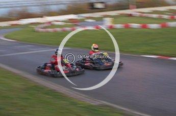 © Octane Photographic Ltd. 2011. Milton Keynes Daytona Karting, Forget-Me-Not Hospice charity racing. Sunday October 30th 2011. Digital Ref : 0194lw7d1592