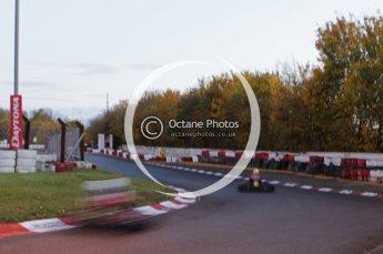 © Octane Photographic Ltd. 2011. Milton Keynes Daytona Karting, Forget-Me-Not Hospice charity racing. Sunday October 30th 2011. Digital Ref : 0194lw7d1629