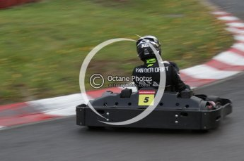 © Octane Photographic Ltd. 2011. Milton Keynes Daytona Karting, Forget-Me-Not Hospice charity racing. Sunday October 30th 2011. Digital Ref : 0194lw7d8287