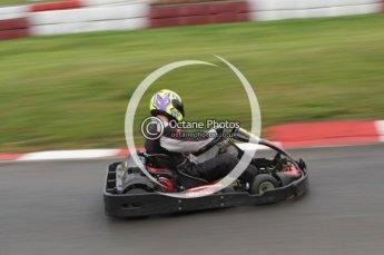 © Octane Photographic Ltd. 2011. Milton Keynes Daytona Karting, Forget-Me-Not Hospice charity racing. Sunday October 30th 2011. Digital Ref : 0194lw7d8667