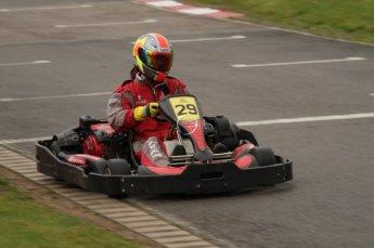© Octane Photographic Ltd. 2011. Milton Keynes Daytona Karting, Forget-Me-Not Hospice charity racing. Sunday October 30th 2011. Digital Ref : 0194lw7d9115