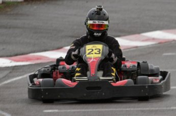 © Octane Photographic Ltd. 2011. Milton Keynes Daytona Karting, Forget-Me-Not Hospice charity racing. Sunday October 30th 2011. Digital Ref : 0194lw7d9664