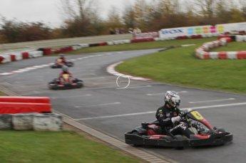 © Octane Photographic Ltd. 2011. Milton Keynes Daytona Karting, Forget-Me-Not Hospice charity racing. Sunday October 30th 2011. Digital Ref : 0194lw7d9735