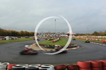 © Octane Photographic Ltd. 2011. Milton Keynes Daytona Karting, Forget-Me-Not Hospice charity racing. Sunday October 30th 2011. Digital Ref : 0194cb1d7870
