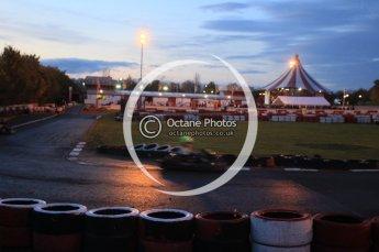 © Octane Photographic Ltd. 2011. Milton Keynes Daytona Karting, Forget-Me-Not Hospice charity racing. Sunday October 30th 2011. Digital Ref : 0194cb1d7943