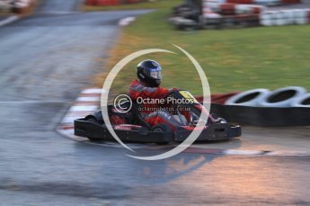 © Octane Photographic Ltd. 2011. Milton Keynes Daytona Karting, Forget-Me-Not Hospice charity racing. Sunday October 30th 2011. Digital Ref : 0194cb7d0064