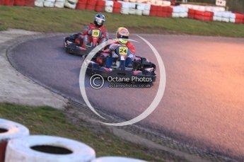 © Octane Photographic Ltd. 2011. Milton Keynes Daytona Karting, Forget-Me-Not Hospice charity racing. Sunday October 30th 2011. Digital Ref : 0194cb7d0205