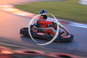 © Octane Photographic Ltd. 2011. Milton Keynes Daytona Karting, Forget-Me-Not Hospice charity racing. Sunday October 30th 2011. Digital Ref : 0194cb7d0214