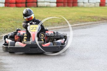 © Octane Photographic Ltd. 2011. Milton Keynes Daytona Karting, Forget-Me-Not Hospice charity racing. Sunday October 30th 2011. Digital Ref : 0194cb7d8271