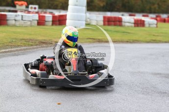 © Octane Photographic Ltd. 2011. Milton Keynes Daytona Karting, Forget-Me-Not Hospice charity racing. Sunday October 30th 2011. Digital Ref : 0194cb7d8281