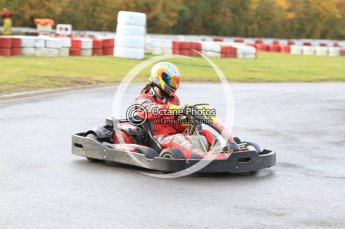 © Octane Photographic Ltd. 2011. Milton Keynes Daytona Karting, Forget-Me-Not Hospice charity racing. Sunday October 30th 2011. Digital Ref : 0194cb7d8301
