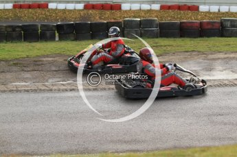 © Octane Photographic Ltd. 2011. Milton Keynes Daytona Karting, Forget-Me-Not Hospice charity racing. Sunday October 30th 2011. Digital Ref : 0194cb7d8305