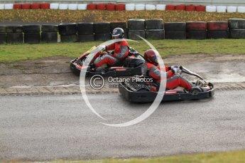 © Octane Photographic Ltd. 2011. Milton Keynes Daytona Karting, Forget-Me-Not Hospice charity racing. Sunday October 30th 2011. Digital Ref : 0194cb7d8305