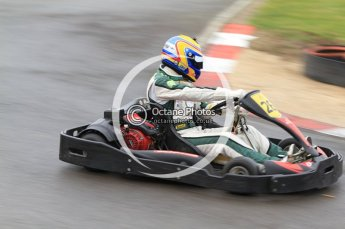 © Octane Photographic Ltd. 2011. Milton Keynes Daytona Karting, Forget-Me-Not Hospice charity racing. Sunday October 30th 2011. Digital Ref : 0194cb7d8444
