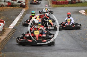 © Octane Photographic Ltd. 2011. Milton Keynes Daytona Karting, Forget-Me-Not Hospice charity racing. Sunday October 30th 2011. Digital Ref : 0194cb7d8572