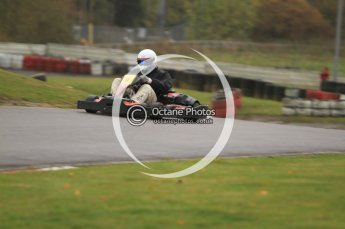 © Octane Photographic Ltd. 2011. Milton Keynes Daytona Karting, Forget-Me-Not Hospice charity racing. Sunday October 30th 2011. Digital Ref : 0194cb7d8644