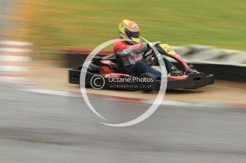 © Octane Photographic Ltd. 2011. Milton Keynes Daytona Karting, Forget-Me-Not Hospice charity racing. Sunday October 30th 2011. Digital Ref : 0194cb7d8665