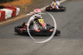 © Octane Photographic Ltd. 2011. Milton Keynes Daytona Karting, Forget-Me-Not Hospice charity racing. Sunday October 30th 2011. Digital Ref : 0194cb7d8732