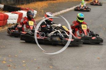 © Octane Photographic Ltd. 2011. Milton Keynes Daytona Karting, Forget-Me-Not Hospice charity racing. Sunday October 30th 2011. Digital Ref : 0194cb7d8747