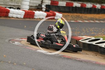 © Octane Photographic Ltd. 2011. Milton Keynes Daytona Karting, Forget-Me-Not Hospice charity racing. Sunday October 30th 2011. Digital Ref : 0194cb7d8992