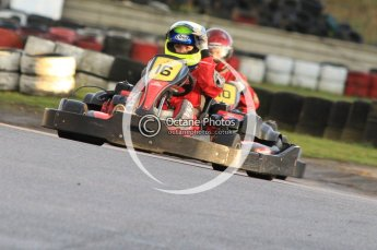 © Octane Photographic Ltd. 2011. Milton Keynes Daytona Karting, Forget-Me-Not Hospice charity racing. Sunday October 30th 2011. Digital Ref : 0194cb7d9295