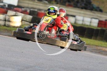 © Octane Photographic Ltd. 2011. Milton Keynes Daytona Karting, Forget-Me-Not Hospice charity racing. Sunday October 30th 2011. Digital Ref : 0194cb7d9295