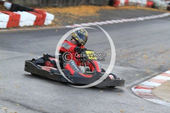 © Octane Photographic Ltd. 2011. Milton Keynes Daytona Karting, Forget-Me-Not Hospice charity racing. Sunday October 30th 2011. Digital Ref : 0194cb7d9328
