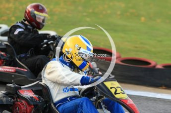 © Octane Photographic Ltd. 2011. Milton Keynes Daytona Karting, Forget-Me-Not Hospice charity racing. Sunday October 30th 2011. Digital Ref : 0194cb7d9359
