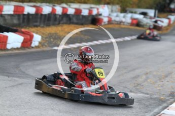 © Octane Photographic Ltd. 2011. Milton Keynes Daytona Karting, Forget-Me-Not Hospice charity racing. Sunday October 30th 2011. Digital Ref : 0194cb7d9424