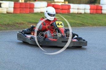 © Octane Photographic Ltd. 2011. Milton Keynes Daytona Karting, Forget-Me-Not Hospice charity racing. Sunday October 30th 2011. Digital Ref : 0194cb7d9523