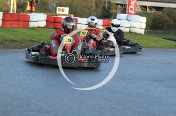 © Octane Photographic Ltd. 2011. Milton Keynes Daytona Karting, Forget-Me-Not Hospice charity racing. Sunday October 30th 2011. Digital Ref : 0194cb7d9532