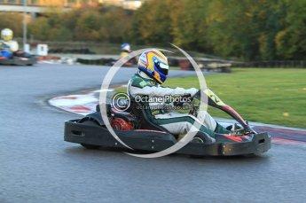 © Octane Photographic Ltd. 2011. Milton Keynes Daytona Karting, Forget-Me-Not Hospice charity racing. Sunday October 30th 2011. Digital Ref : 0194cb7d9550