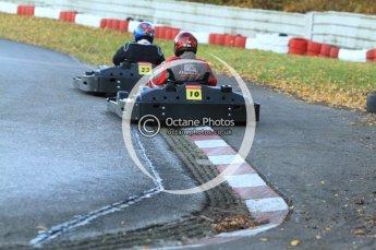 © Octane Photographic Ltd. 2011. Milton Keynes Daytona Karting, Forget-Me-Not Hospice charity racing. Sunday October 30th 2011. Digital Ref : 0194cb7d9619