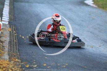 © Octane Photographic Ltd. 2011. Milton Keynes Daytona Karting, Forget-Me-Not Hospice charity racing. Sunday October 30th 2011. Digital Ref : 0194cb7d9645