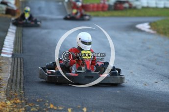 © Octane Photographic Ltd. 2011. Milton Keynes Daytona Karting, Forget-Me-Not Hospice charity racing. Sunday October 30th 2011. Digital Ref : 0194cb7d9660