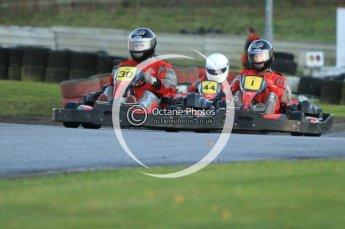 © Octane Photographic Ltd. 2011. Milton Keynes Daytona Karting, Forget-Me-Not Hospice charity racing. Sunday October 30th 2011. Digital Ref : 0194cb7d9663