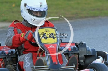 © Octane Photographic Ltd. 2011. Milton Keynes Daytona Karting, Forget-Me-Not Hospice charity racing. Sunday October 30th 2011. Digital Ref : 0194cb7d9723