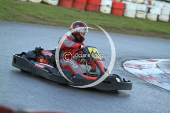 © Octane Photographic Ltd. 2011. Milton Keynes Daytona Karting, Forget-Me-Not Hospice charity racing. Sunday October 30th 2011. Digital Ref : 0194cb7d9804