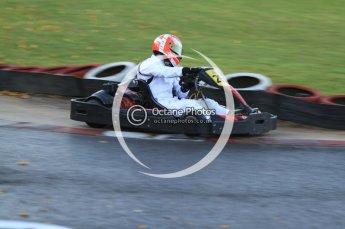 © Octane Photographic Ltd. 2011. Milton Keynes Daytona Karting, Forget-Me-Not Hospice charity racing. Sunday October 30th 2011. Digital Ref : 0194cb7d9944